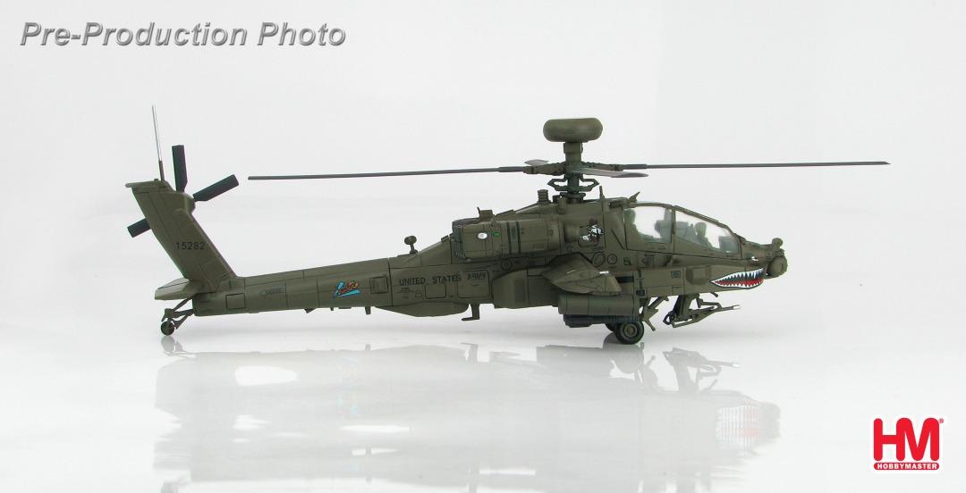 AH-64Dアパッチ・ロングボウ アメリカ陸軍 第229航空連隊 第8大隊 「フライングタイガーズ」 1/72 ※新金型 2018年8月8日発売 Hobby Master/ホビーマスター飛行機/模型/完成品 [HH1201]