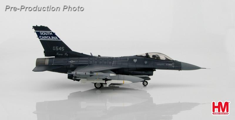 F-16C (ブロック52) アメリカ空軍 サウスカロライナ州空軍 第169戦闘航空団 第157戦闘飛行隊「スワンプ・フォックス」 ワイルドウィーゼル仕様 12年 #93-0545 1/72 2016年11月5日発売 Hobby Master/ホビーマスター飛行機/模型/完成品 [HA3843]