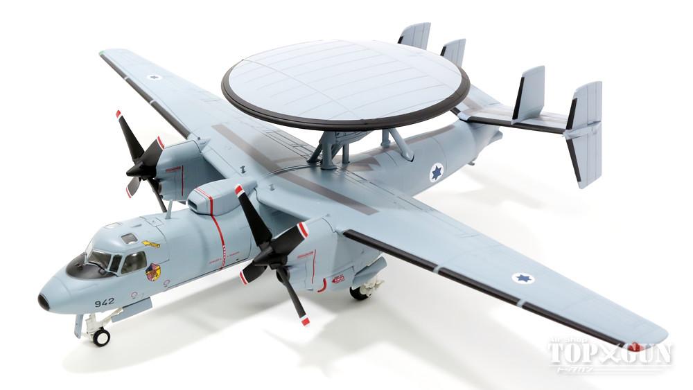 【期間限定特価】 E-2Cダヤ(ホークアイ) イスラエル国防軍空軍 第92飛行隊 #942 1/72 2016年1月8日発売 Hobby Master/ホビーマスター飛行機/模型/完成品 [HA4805], マクラザキシ 48b0ea17