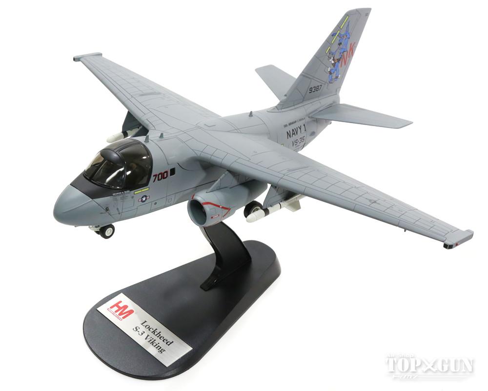S-3Bバイキング アメリカ海軍 第35対潜飛行隊 「ブルーウォルブズ」 特別塗装 「サンタ・トラッカー」 空母エイブラハム・リンカーン搭載 02年 NK700/#160124 1/72 2016年11月30日発売 Hobby Master/ホビーマスター飛行機/模型/完成品 [HA4905]