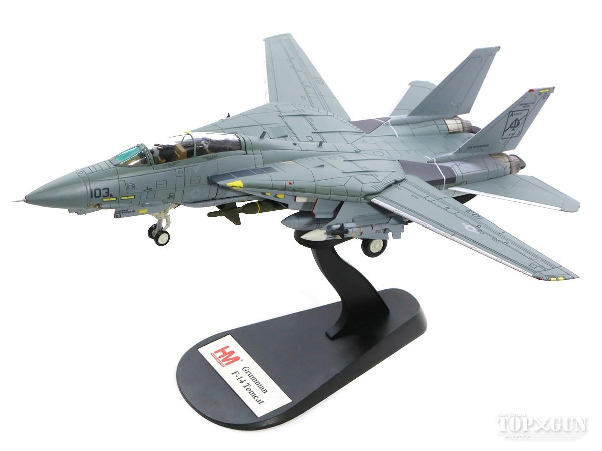 F-14A トムキャット アメリカ海軍 第41戦闘飛行隊 「ブラックエイセス」 空母エンタープライズ搭載 最終航海時 01年 「ドロレス」 AJ103/#158612 1/72 2018年12月11日発売 Hobby Master/ホビーマスター飛行機/模型/完成品 [HA5218]
