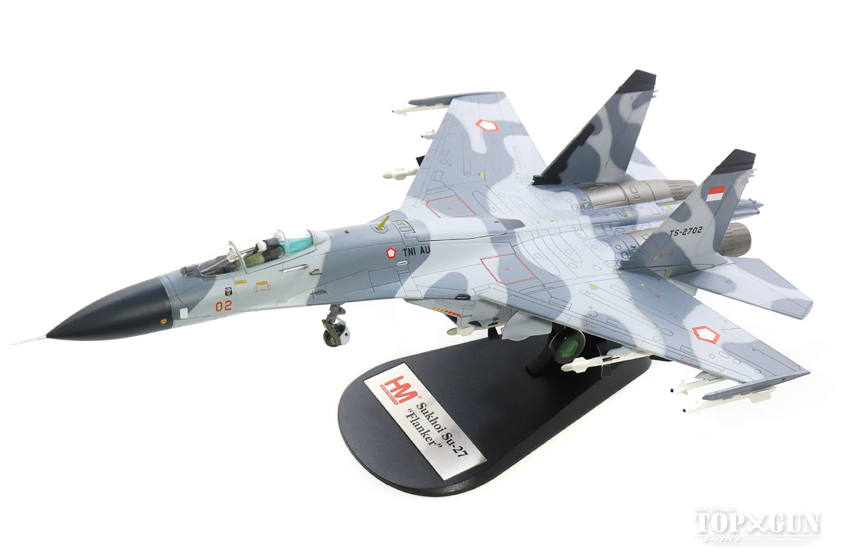 Su-27SK 「フランカーB」 インドネシア空軍 第11飛行隊 イスワヒュディ基地 03年 TS-2702 1/72 2018年10月19日発売 Hobby Master/ホビーマスター飛行機/模型/完成品 [HA6005]