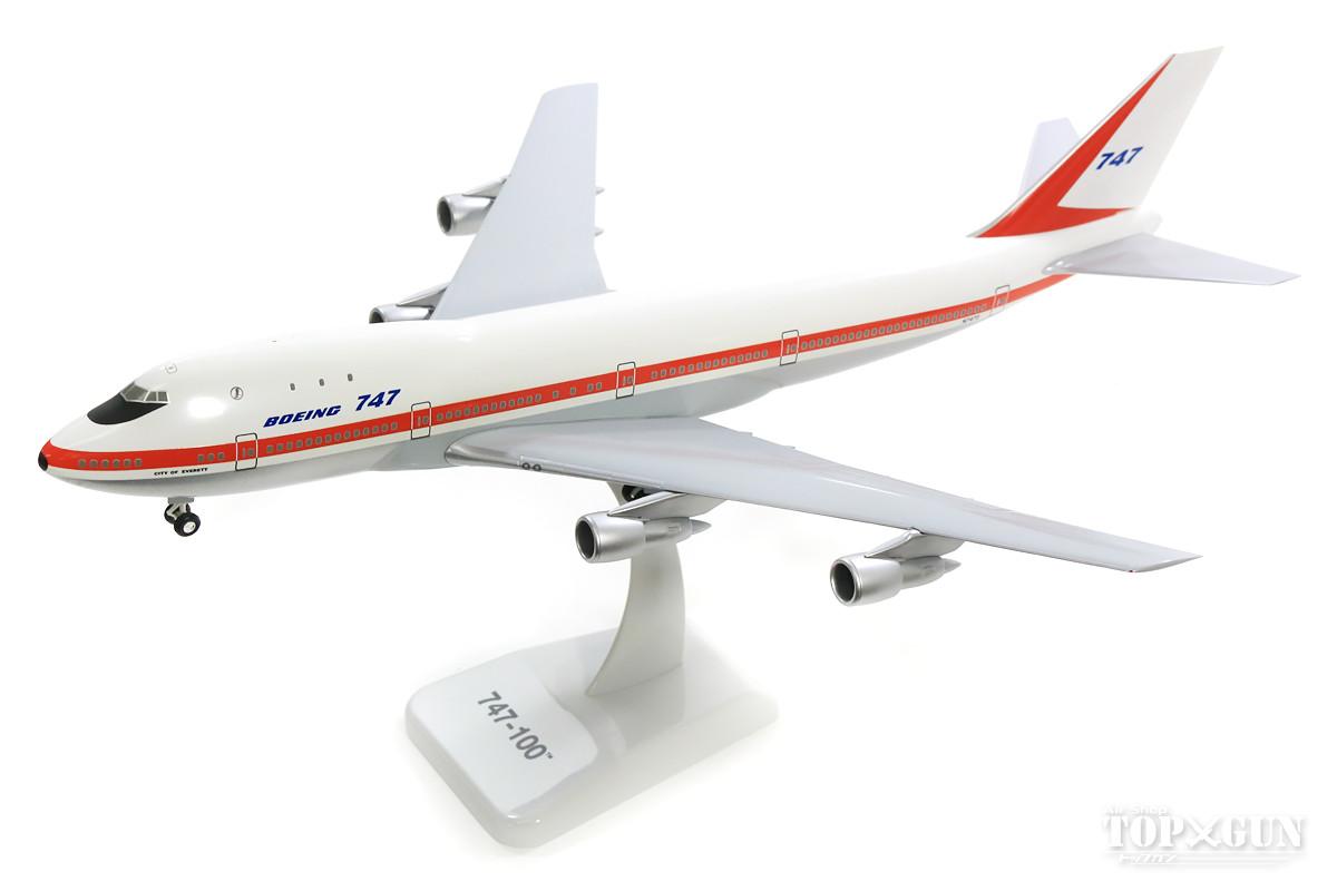 ボーイング 747-100 ボーイング社 ハウスカラー 「City of Everett」 (ギア・スタンド付属) 1/200 ※プラ製 2018年12月5日発売 hogan Wings/ホーガンウイングス飛行機/模型/完成品 [11014GR]