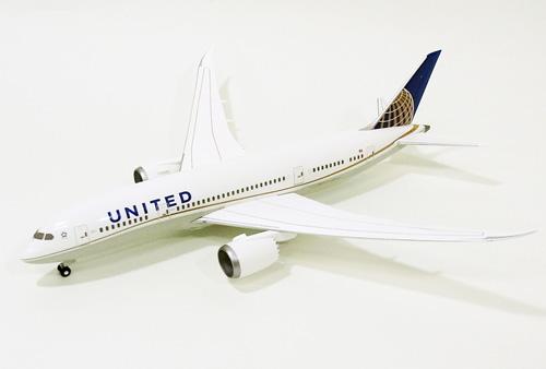 ボーイング B787-8 ユナイテッド航空 DREAMLINER 1/200 2012年11月19日発売 hogan Wings/ホーガンウイングス飛行機/模型/完成品 [4074GR]