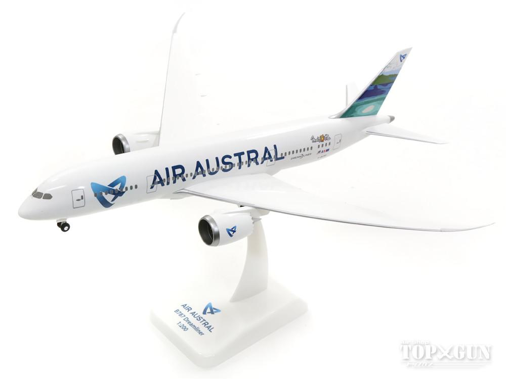 ボーイング 787-8 エール・オーストラル F-OLRC (ランディングギア/スタンド付属) 1/200 ※プラ製 2017年8月8日発売 hogan Wings/ホーガンウイングス飛行機/模型/完成品 [AA03]
