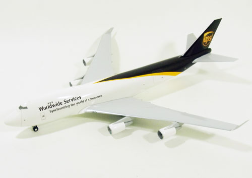 ボーイング 747-400F(貨物型) UPSユナイテッド パーセル サービス 1/200 2014年8月21日発売 hogan Wings/ホーガンウイングス飛行機/模型/完成品 [HG0243G]