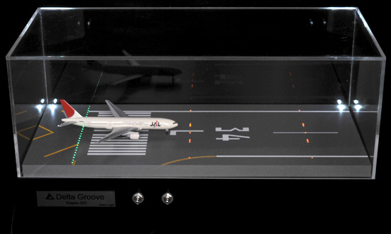 Roteiro2s 滑走路 羽田空港再現 ジオラマ光ファイバー組込式ライトアップセット 1/500スケール用 ※受注生産 デルタグルーヴ/Delta Groove 飛行機/模型/完成品 [R2-34LS]