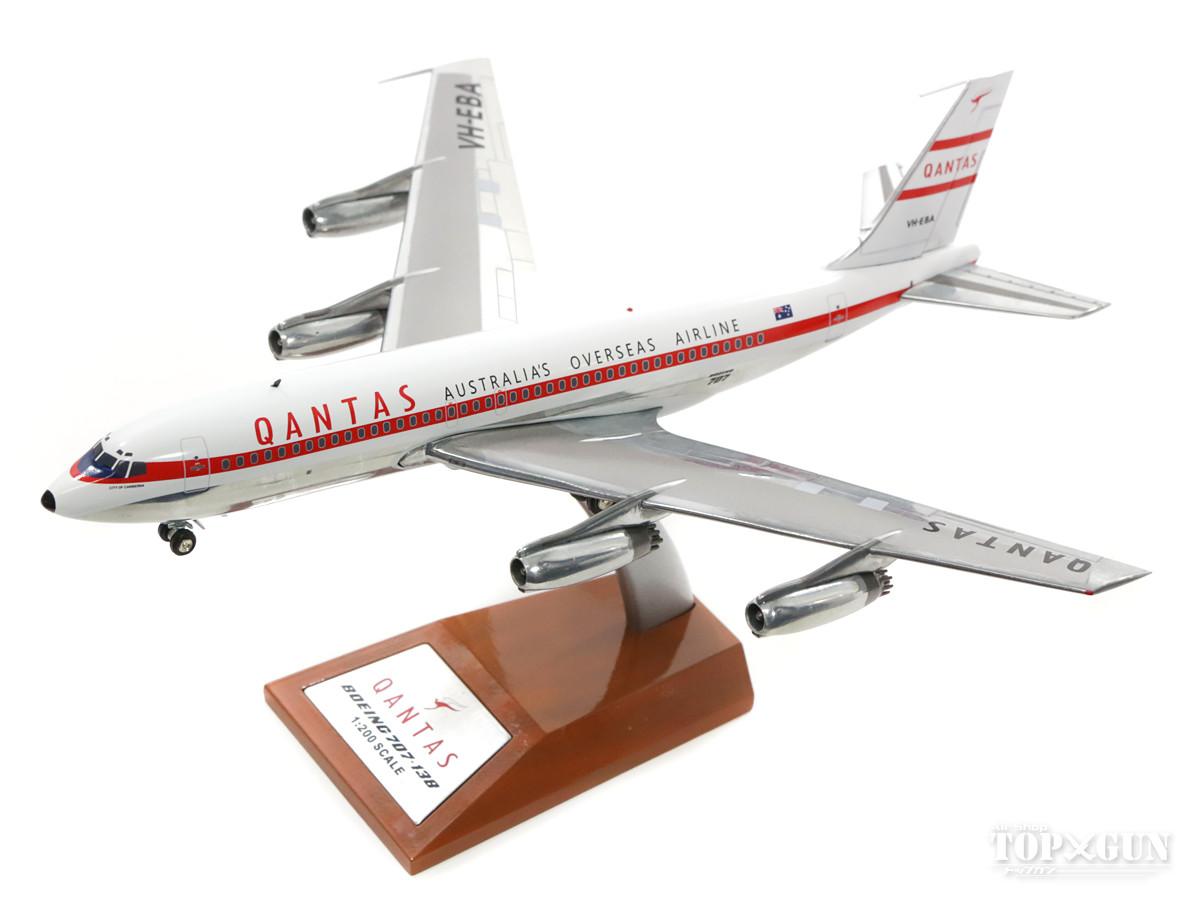 ボーイング 707-138B カンタス・オーストラリア航空 59年 VH-EBA (スタンド付属) 1/200 ※金属製 2018年4月21日発売 InFlight200/インフライト200飛行機/模型/完成品 [IF70710817]