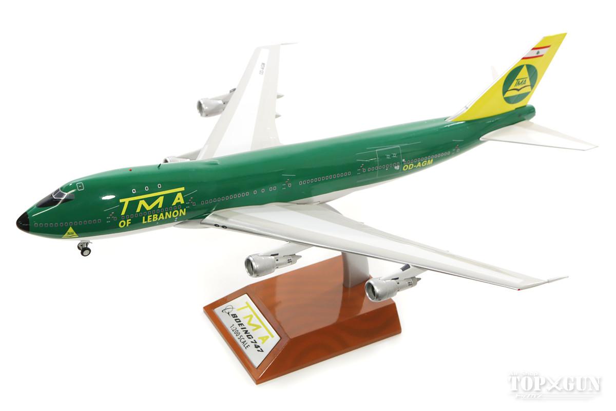 ボーイング 747-100SF(改造貨物型) TMAトランスメディテラネアン航空 (スタンド付属) 76年 OD-AGM 1/200 ※金属製 2018年2月25日発売 InFlight200/インフライト200飛行機/模型/完成品 [IF742N2001]