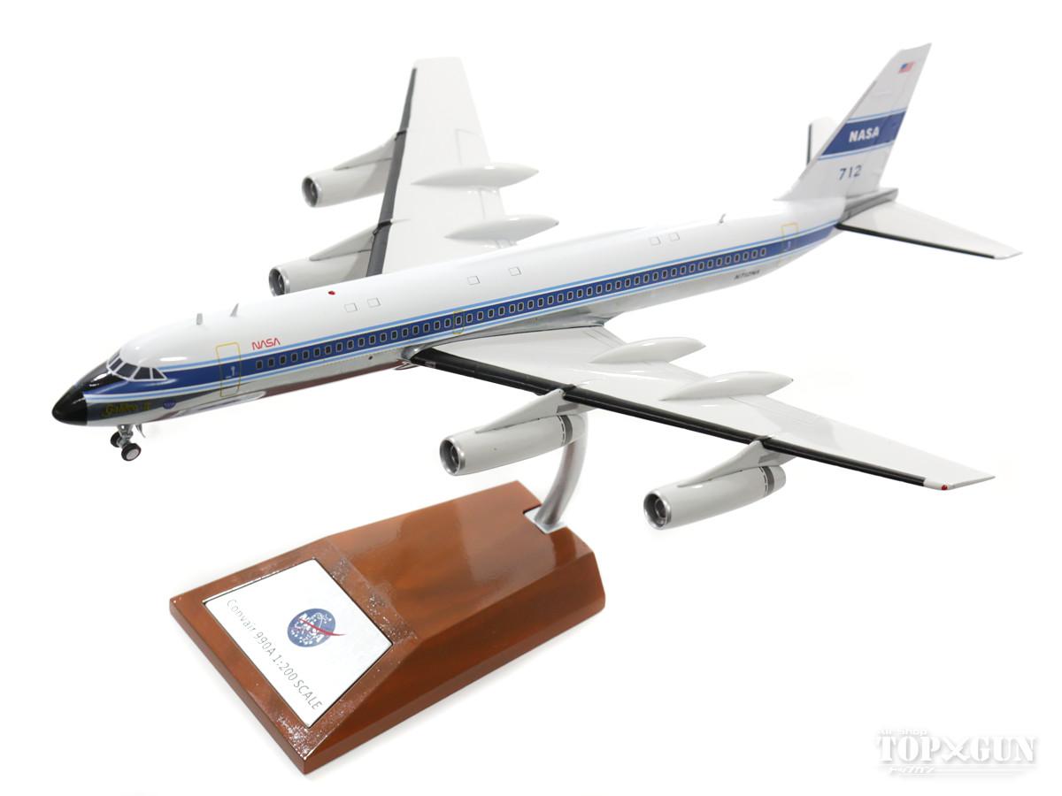 コンベア990A NASAアメリカ航空宇宙局 70年代 ポリッシュ仕上 (スタンド付属) N712NA 1/2002018年1月31日発売 InFlight200/インフライト200飛行機/模型/完成品 [IF9901217P]