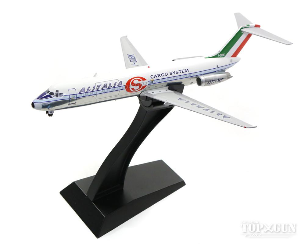 マクドネル・ダグラス DC-9-32F(貨物型) アリタリア航空 カーゴシステム 6-70年代 ポリッシュ仕上 I-DIBK (スタンド付属) 1/200 ※金属製  2017年6月28日発売 InFlight200/インフライト200飛行機/模型/完成品 [IFDC90816BP]