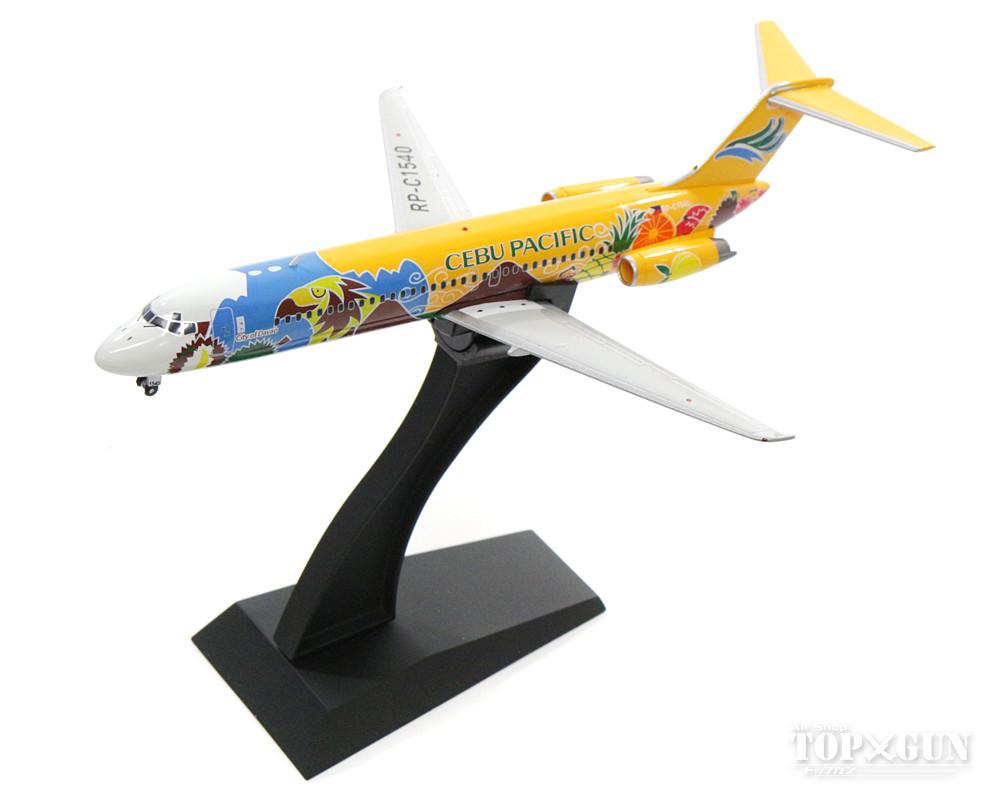 マクドネル・ダグラス DC-9-32 セブ・パシフィック航空 特別塗装 00年代 (スタンド付属) RP-C1540 1/200 ※金属製 2017年11月4日発売 InFlight200/インフライト200飛行機/模型/完成品 [IFDC90916]