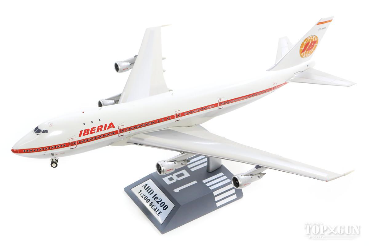 747-100 イベリア航空 70年代 (スタンド付属) EC-BRO 1/200 ※金属製 2018年9月6日発売 ARD Models飛行機/模型/完成品 [ARDLE006]