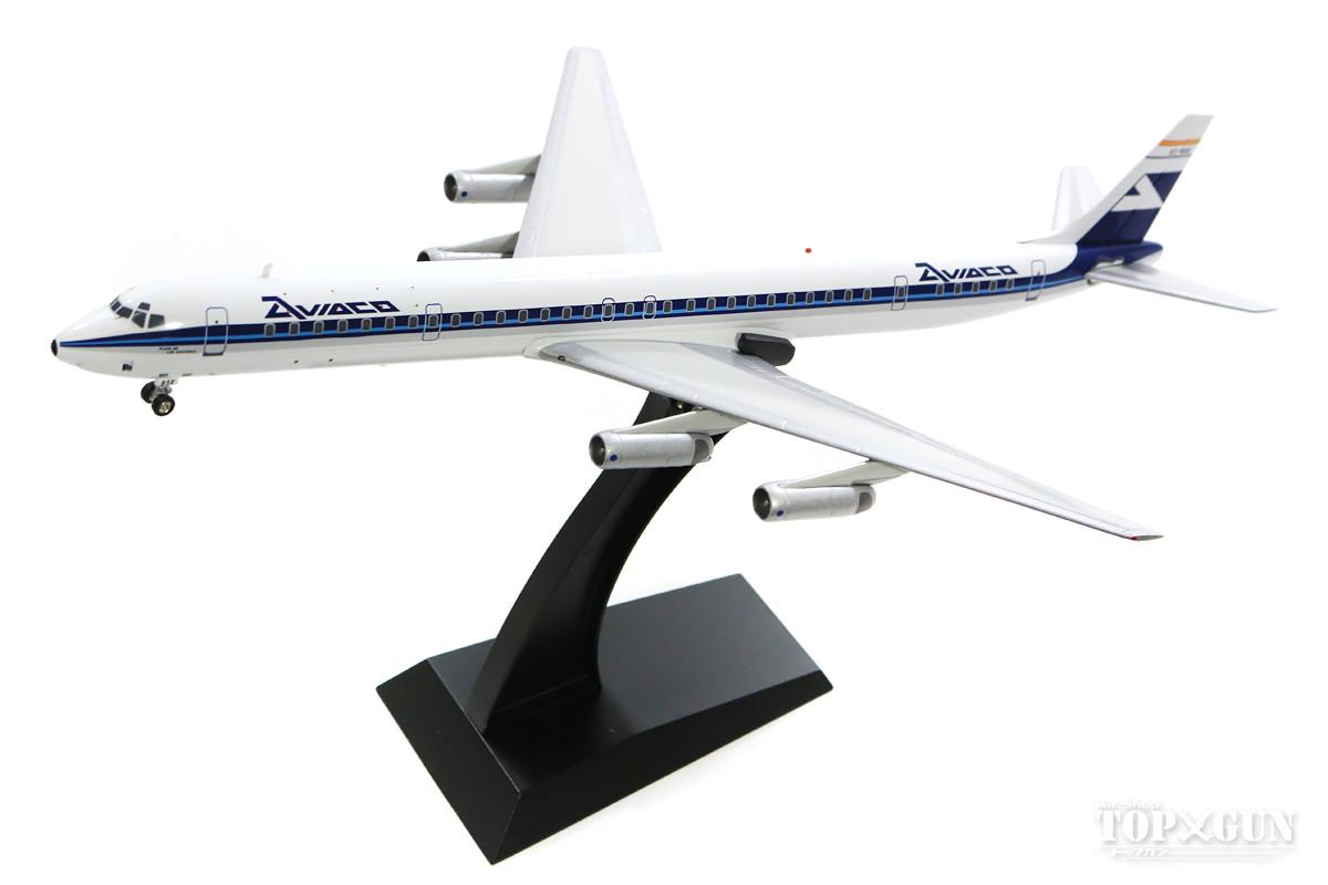 マクドネル・ダグラス DC-8-63 アビアコ航空(スペイン) EC-BSE (スタンド付属) 1/200 ※金属製 2018年11月3日発売InFlight200/インフライト200飛行機/模型/完成品 [IFDC630118]