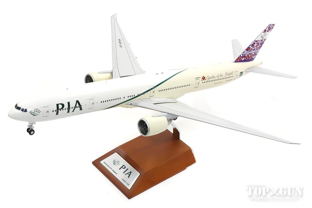 ボーイング 777-300ER PIAパキスタン国際航空 「Garden of the Mughal」 AP-BHW (スタンド付属) 1/200 ※金属製 2017年4月29日発売JCWINGS飛行機/模型/完成品 [LH2036]