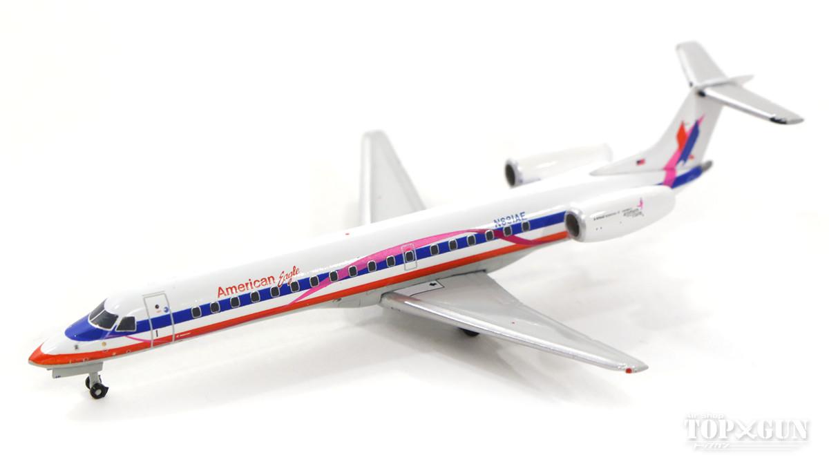 エンブラエル ERJ-145LR アメリカンイーグル航空 「Pink Ribbon」 N691AE 1/400 2018年3月22日発売JCWINGS飛行機/模型/完成品 [XX4016]