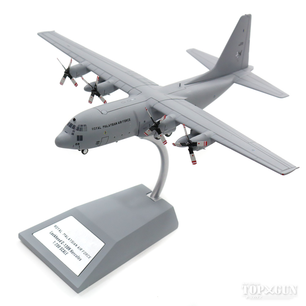 C-130 マレーシア空軍 M30-09 (スタンド付属) 1/200 2017年12月27日発売 JFOX MODELS飛行機/模型/完成品 [JF-C130-005]