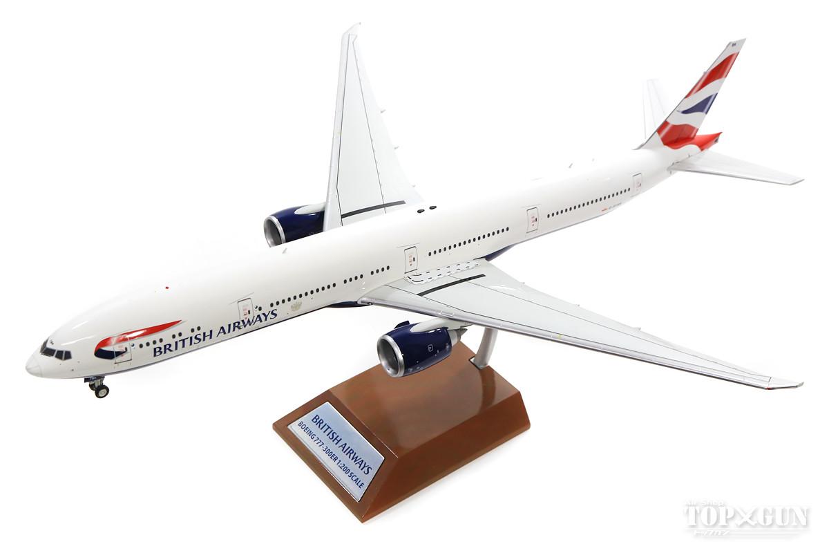 ボーイング 777-300ER ブリティッシュ・エアウェイズ (スタンド付属) G-STBK 1/200 ※金属製 2018年6月29日発売WB Models飛行機/模型/完成品 [WB-777-BA-001]
