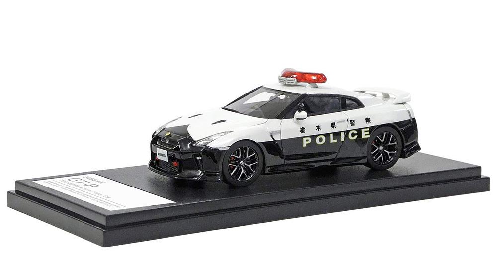 インターアライド Hi-Story 日産 GT-R PATOROL CAR 栃木県警察 1/43 [HS220]