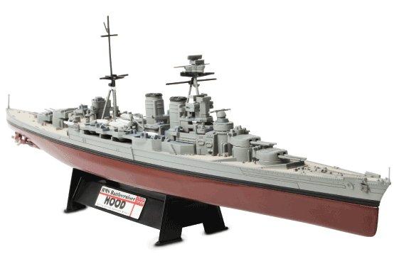 フッド HMS イギリス海軍アドミラル級巡洋戦艦 1941年 1/700 Waltersons/ワルターソン