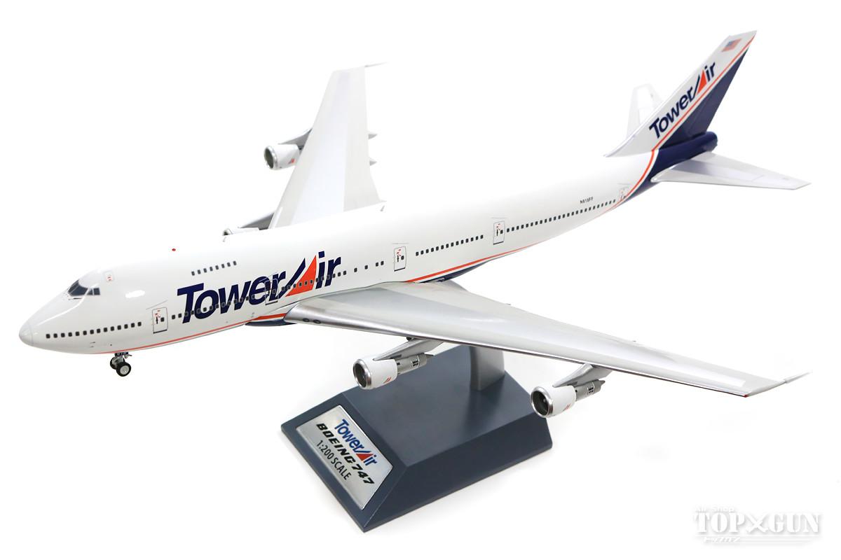 747-200B タワーエア 90年代 (スタンド付属) N618FF 「Liar Liar」 1/200 ※金属製 2018年9月6日発売B-Models飛行機/模型/完成品 [B-742-LL001]