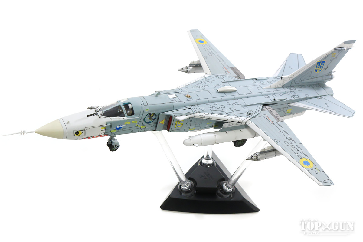 Su-24MR(偵察型)「フェンサーE」 ウクライナ空軍 #15 1/72 ※新金型 2019年1月19日 Calibre Wings/カリバーウイングス 飛行機/模型/完成品 [CA722402]