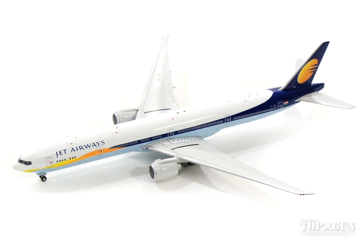 ボーイング 777-300ER ジェットエアウェイズ VT-JET 1/400 2018年6月3日発売フェニックス飛行機/模型/完成品 [04194]