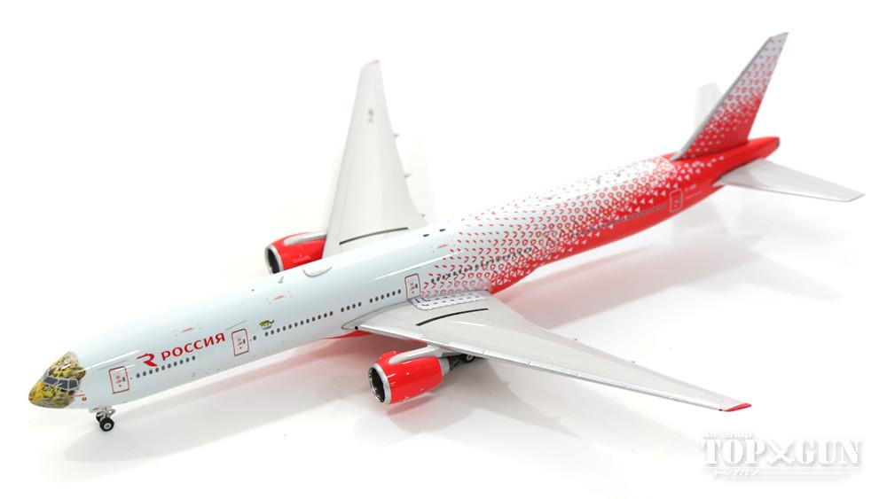 【スーパーセール】ボーイング 777-300 ロシア航空 特別塗装 「ヒョウ」 EI-UNP 1/400 2017年5月31日発売フェニックス飛行機/模型/完成品 [11378]