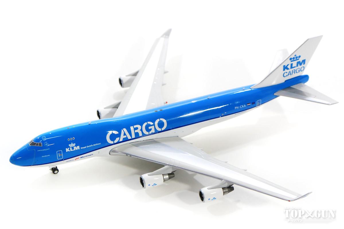 ボーイング 747-400F(貨物型) KLMカーゴ PH-CKA 1/400 2018年12月9日発売 フェニックス飛行機/模型/完成品 [04232]