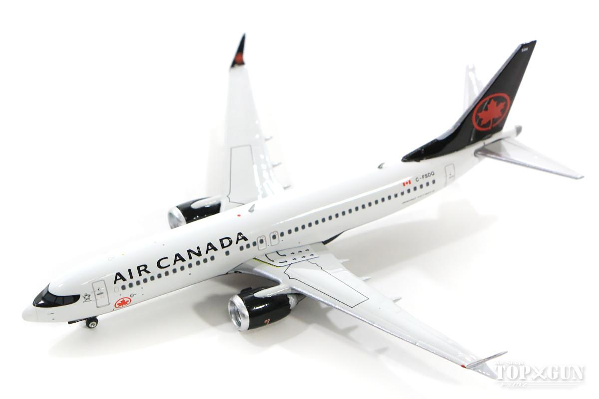 ボーイング 737 MAX 8 エア・カナダ C-FSDQ 1/400 2019年2月6日発売 フェニックス飛行機/模型/完成品 [04241]