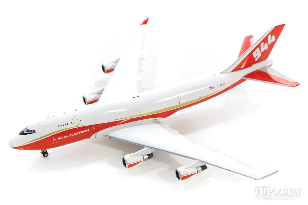 ボーイング 747-400BCF(改造貨物型) グローバル・スーパータンカーサービシーズ 森林火災用空中消火機 N744ST 1/400 2019年3月日発売 フェニックス飛行機/模型/完成品 [04246]