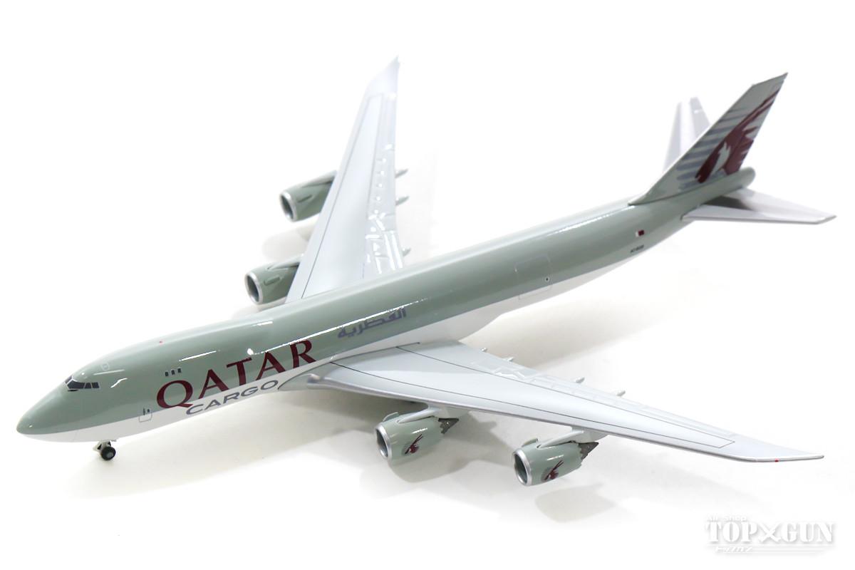 ボーイング 747-8F(貨物型) カタール航空 カーゴ A7-BGB 1/500 2019年2月6日発売herpa/ヘルパウィングス飛行機/模型/完成品 [531993]