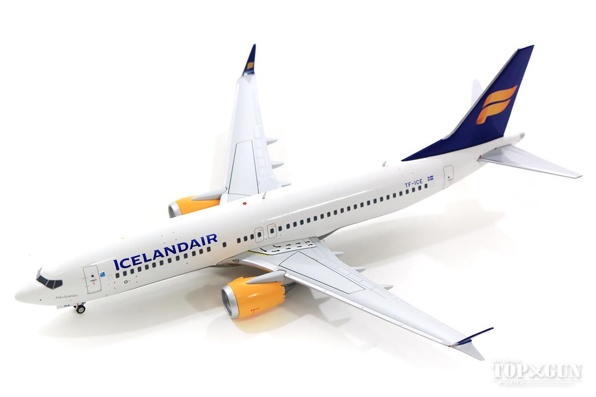 ボーイング 737 MAX 8 アイスランド航空 新塗装 TC-ICE 1/200 ※金属製 2019年2月6日発売 Gemini200/ジェミニ200飛行機/模型/完成品 [G2ICE733]