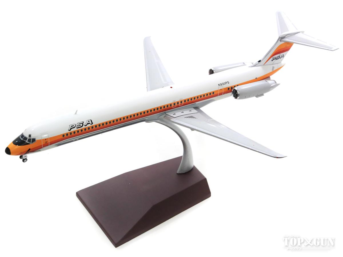 マクドネル・ダグラス MD-81 PSAパシフィックサウスウエスト航空 80年代 N930PS 1/200 ※金属製 2019年3月31日発売Gemini200/ジェミニ200飛行機/模型/完成品 [G2PSA172]