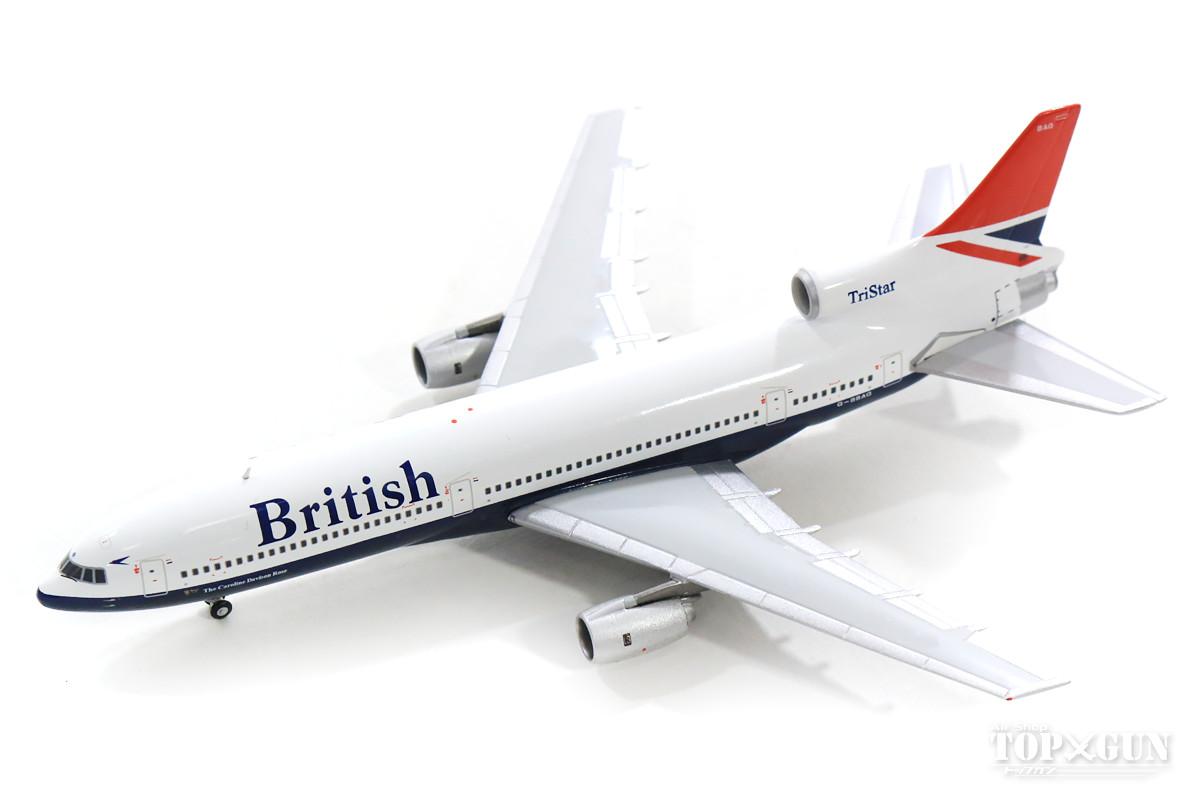 ロッキード L-1011-1 ブリティッシュ・エアウェイズ 「British」ロゴ 80年代 G-BBAG 1/400 2019年3月16日発売 Gemini Jets/ジェミニジェッツ飛行機/模型/完成品 [GJBAW137]