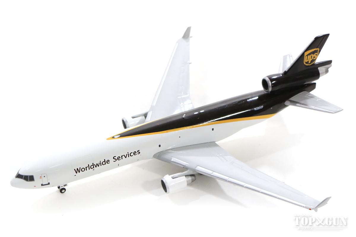 マクドネル・ダグラス MD-11F(貨物型) UPS ユナイテッド・パーセル・サービス N280UP 1/400 2019年3月15日発売 Gemini Jets/ジェミニジェッツ飛行機/模型/完成品 [GJUPS1829]