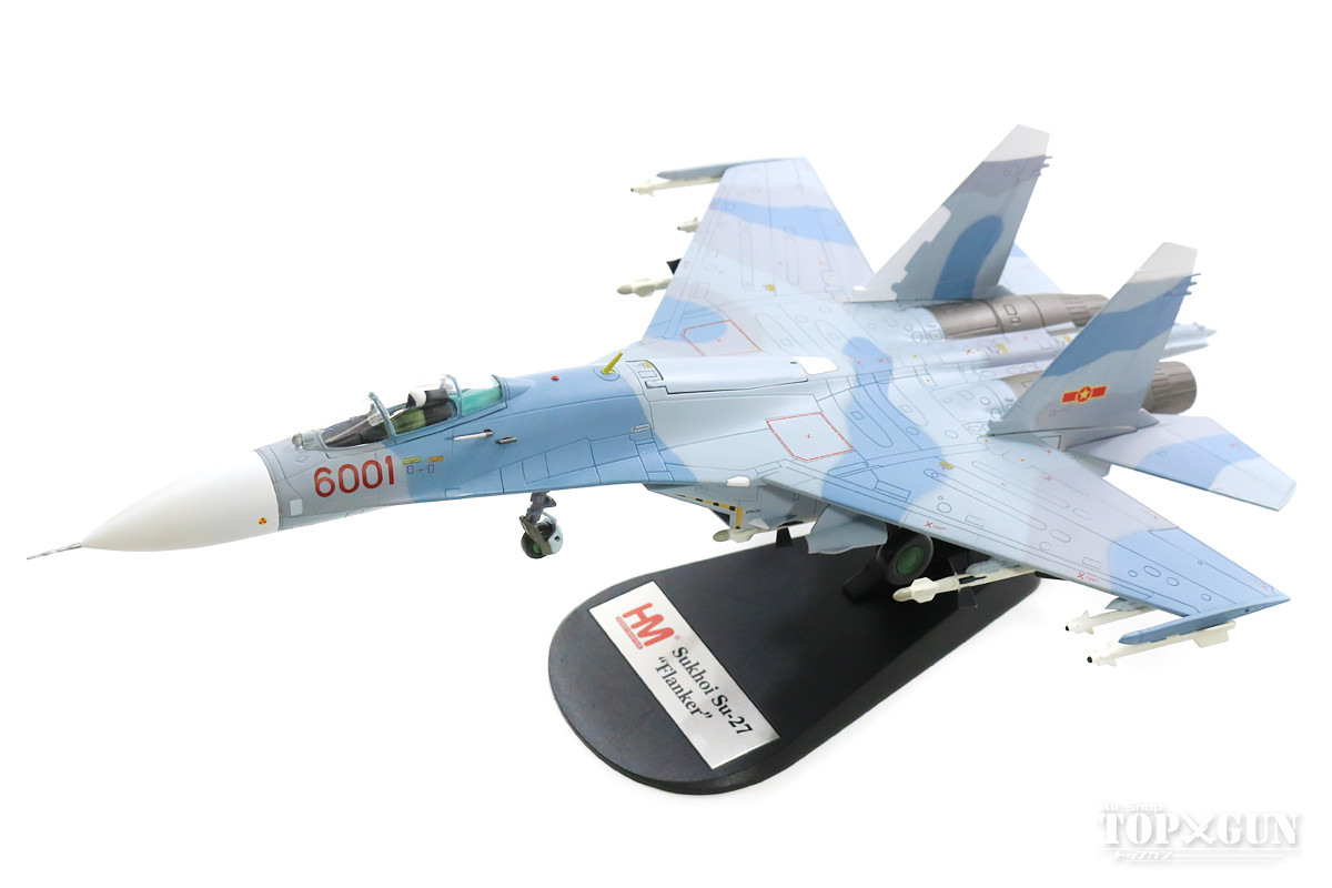Su-27SK 「フランカーB」 ベトナム空軍 第370戦闘航空団 第937戦闘航空連隊 ファンラン基地 #6001 1/72 2019年4月16日発売Hobby Master/ホビーマスター飛行機/模型/完成品 [HA6007]