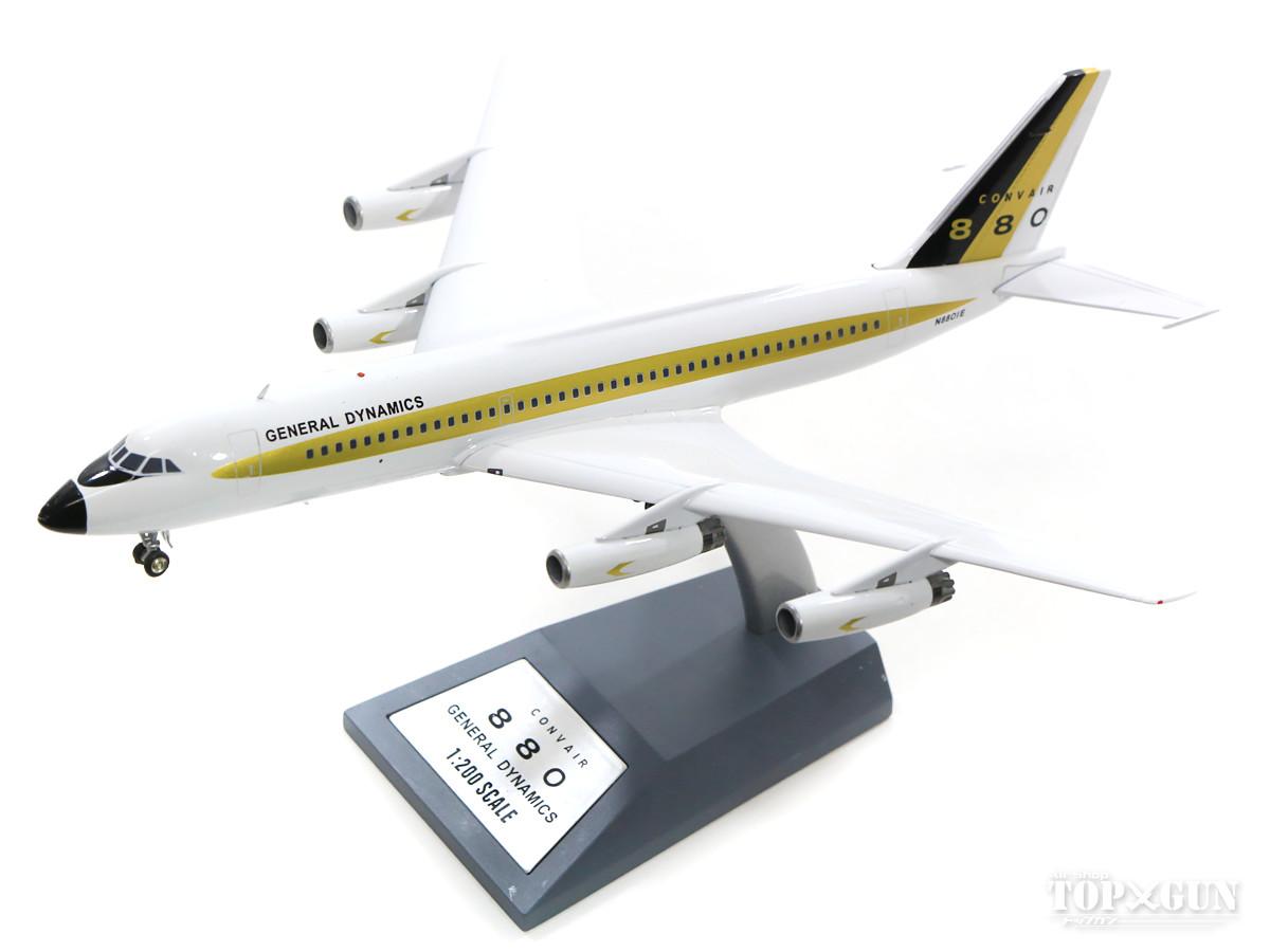 コンベア CV-880 ノースイースト航空 N8493H (スタンド付属) 1/200 2019年2月6日発売 InFlight200/インフライト200飛行機/模型/完成品 [IF880NE001]