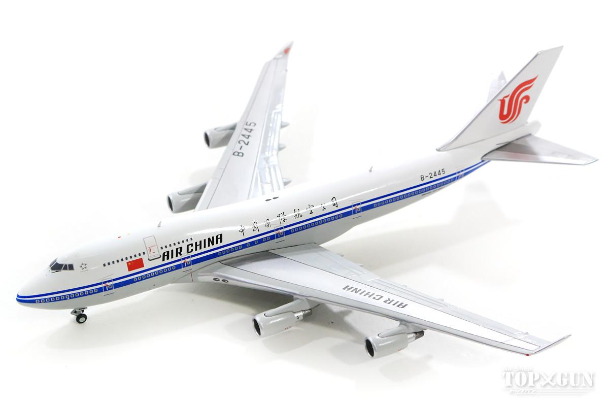 ボーイング 747-400 中国国際航空(エアチャイナ) B-2445 1/400 2019年3月27日発売JCWINGS飛行機/模型/完成品 [XX4059]