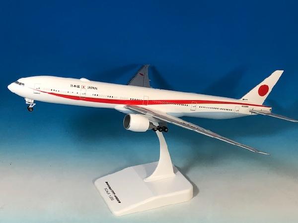 ボーイング B777-300ER 航空自衛隊 日本国政府専用機 1号機 #80-1111 WiFiアンテナ付/プラ製スタンド付属 1/200 ※プラ製 2019年6月3日発売 EVERRISE/エバーライズ飛行機/模型/完成品 [80-1111]