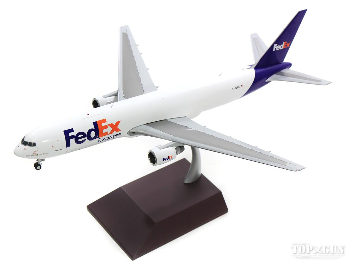 ボーイング 767-300ER(F) FedEx(フェデックス・エクスプレス) N102FE 1/200 2019年6月1日発売 Gemini200/ジェミニ200飛行機/模型/完成品 [G2FDX824]