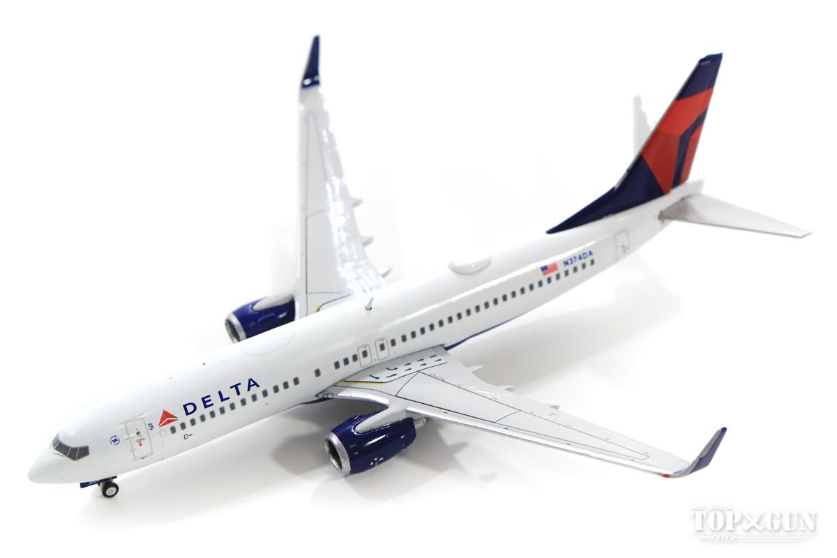 ボーイング 737-800w デルタ航空 N374DA 1/400 2019年6月29日発売 Gemini Jets/ジェミニジェッツ飛行機/模型/完成品 [GJDAL1804]
