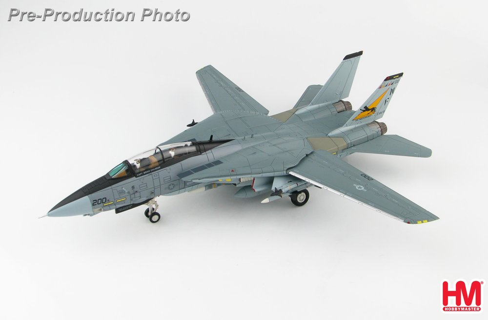 F-14A アメリカ海軍 第21戦闘飛行隊「フリーランサーズ」 空母インディペンデンス搭載 94年 NF200/#161616 1/72 2019年6月12日発売 Hobby Master/ホビーマスター飛行機/模型/完成品 [HA5225]