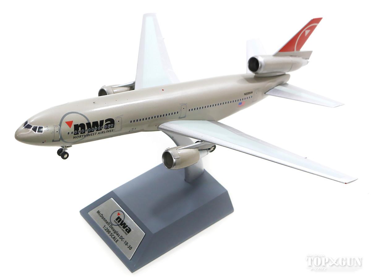 マクドネル・ダグラス DC-10 ノースウエスト航空 N226NW (スタンド付属) 1/200 2019年6月29日発売 InFlight200/インフライト200飛行機/模型/完成品 [IFDC10NW0219]