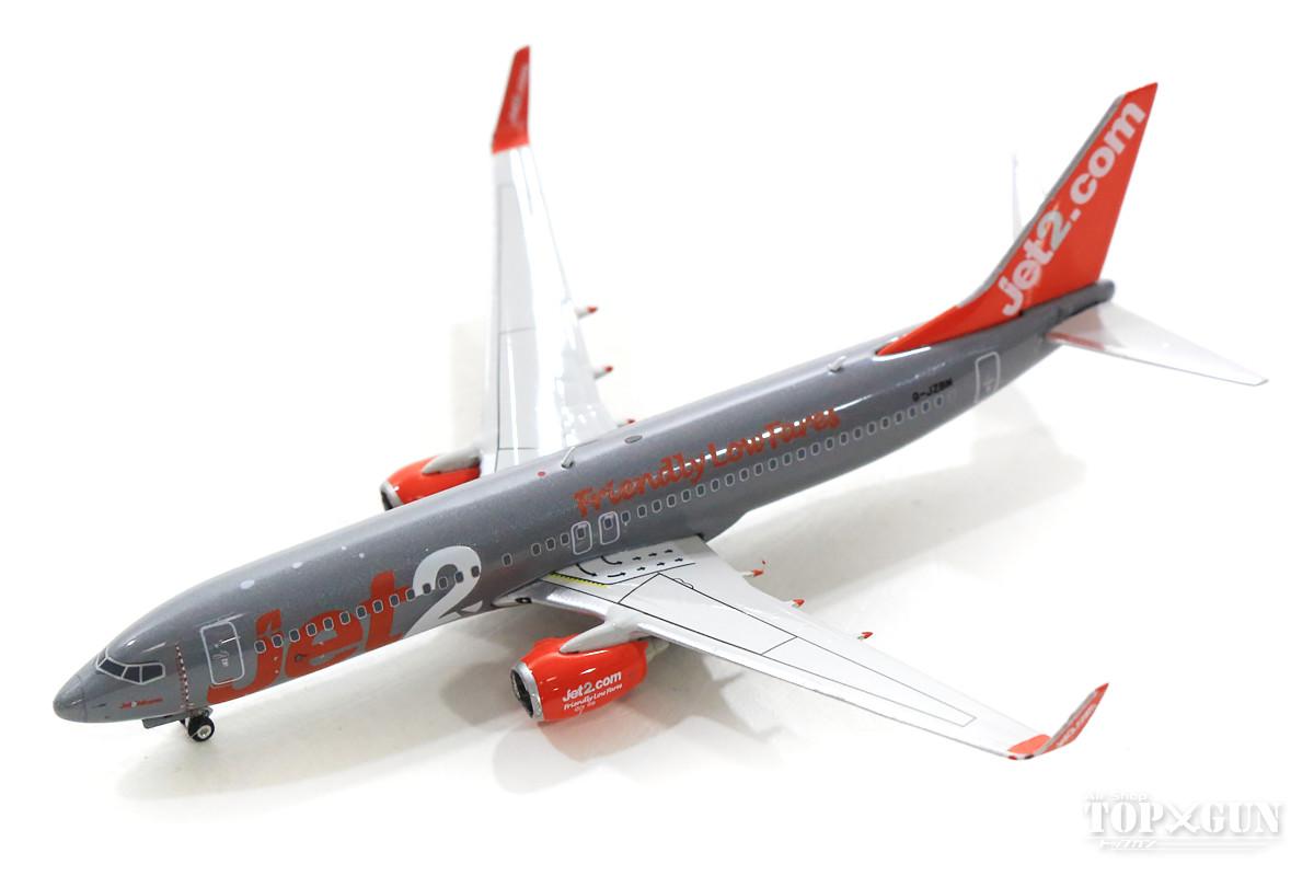 ボーイング 737-800 JET2(ジェット・ツー) G-JZBM 1/400 2019年7月10日発売 フェニックス飛行機/模型/完成品 [04260]