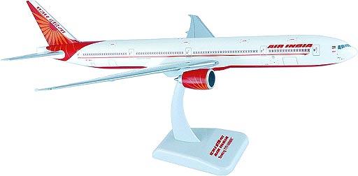 ボーイング 777-300ER エア・インディア 1/200 ※プラ製 2019年7月23日未掲載品 hogan Wings/ホーガンウイングス飛行機/模型/完成品 [3947GR]