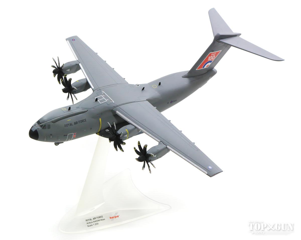 エアバス A400M イギリス空軍 No LXX Sq ブライズノートン 「RAF100」 ZM416 1/200 ※金属製 2019年8月4日発売 herpa/ヘルパウィングス飛行機/模型/完成品 [559447]