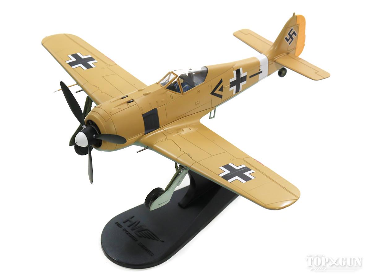 Fw190A-4 ドイツ空軍 第2戦闘航空団 第I飛行隊 隊長アドルフ・ディックフェルト中尉機 チュニジア 42年末 1/48 2019年7月19日発売 Hobby Master/ホビーマスター飛行機/模型/完成品 [HA7426]