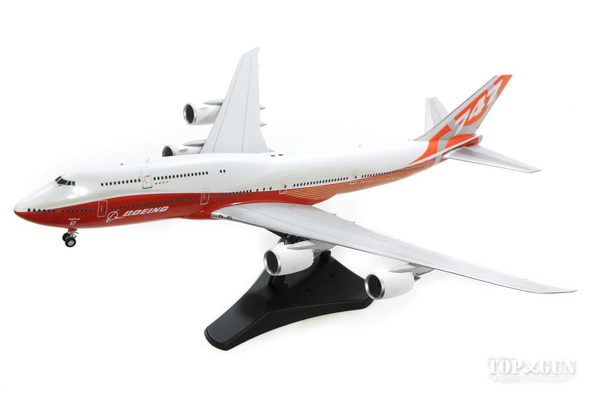 ボーイング 747-8i ボーイング社 ハウスカラー 「Sunrise Livery」 N6067E (スタンド付属) 1/200 ※金属製 ※金属製 2019年8月17日発売JCWINGS飛行機/模型/完成品 [LH2078]