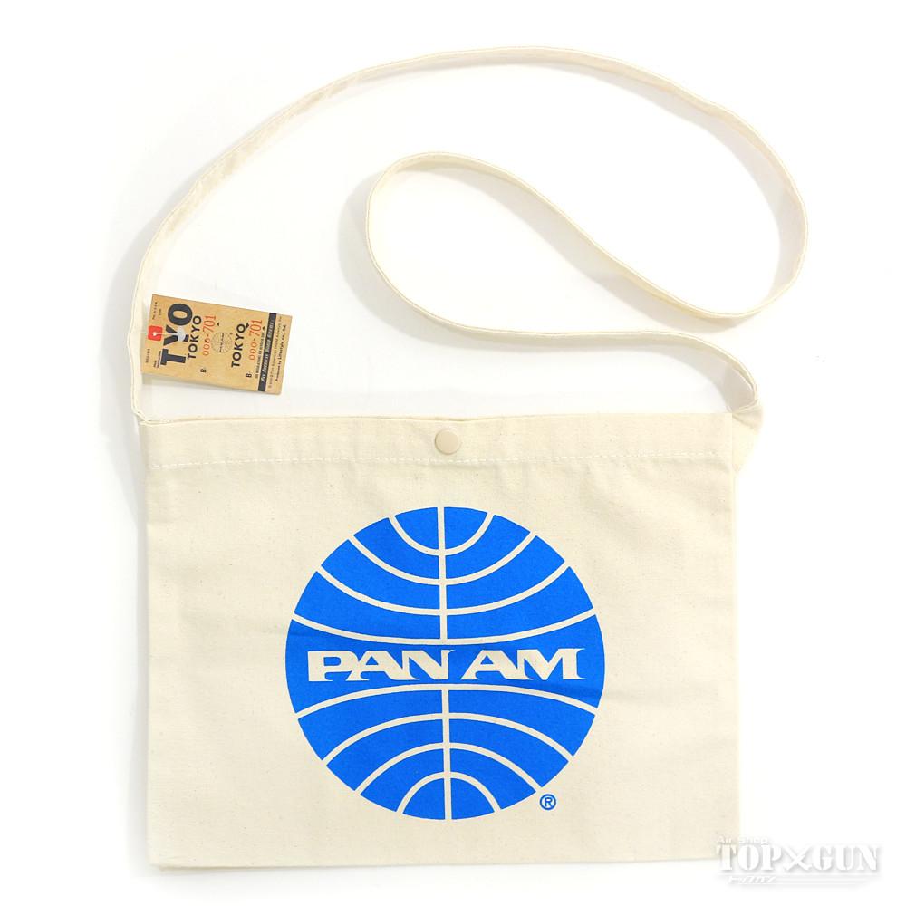 店頭受取対応商品 PANAM 安売り パンアメリカン航空 White サコッシュ 人気ブレゼント PA-SCH1W